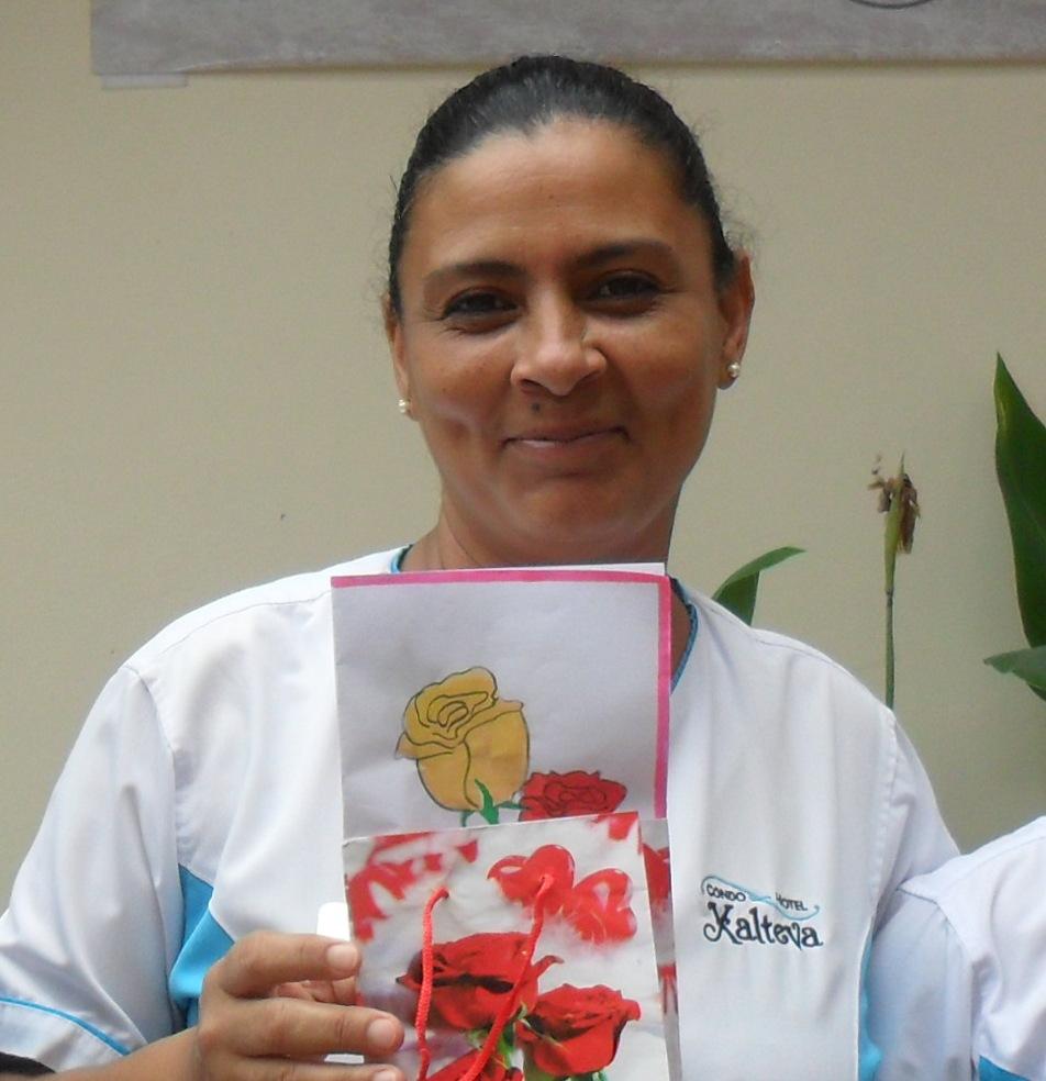 ivania, madre nicaraguense